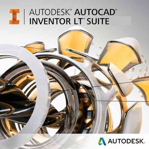 AutoCAD Inventor LT Suite 2019 (1 Year) single-user
